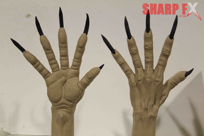 Werewolf Hands Sculpture
