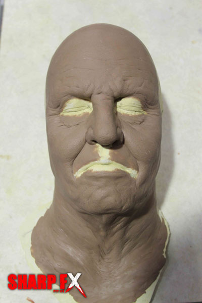 Old Age Prosthetic Sculpture