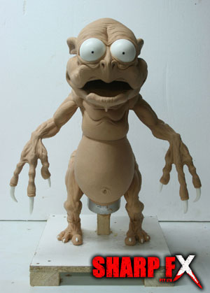 Creature Puppet Sculpture