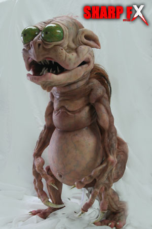 Finished Creature Puppet